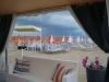 Vista dal gazebo della spiaggia