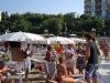 Festa in spiaggia con sangria