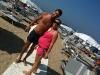 Erika e Matteo in spiaggia