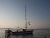 La barca che parte dai bagni 32 di gabicce mare