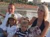 Famiglia a gabicce mare in vacanza