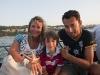 Genitori e figli a gabicce mare