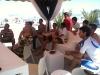 Spettatori MotoGp spiaggia gabiccemare