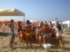 gruppo di bambini a gabicce mare