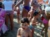 festa e gruppo di bambini in festa