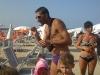 in spiaggia con la nutella