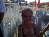 bambina in spiaggia a gabicce mare