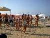 gruppo e spiaggia in riviera