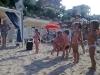 i bambini si divertono a gabicce mare